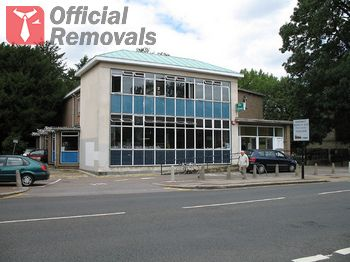Office removals in Church-End-N3