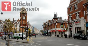 Office removals in Crouch-End
