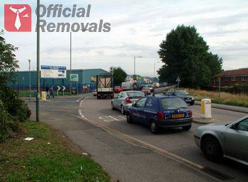Insured business removals in Elmers End