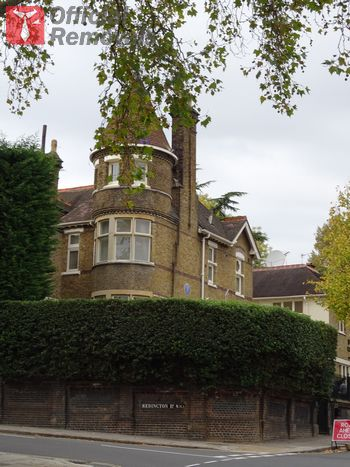 Trusted business removals in Frognal