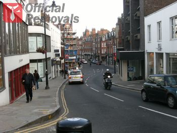 Fast business removal in Hampstead