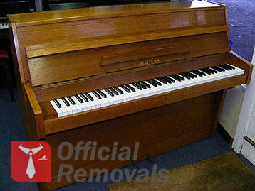 Insured Piano Removals in London