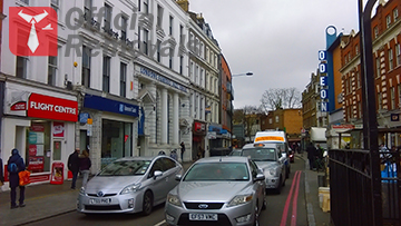 Central London, Camden