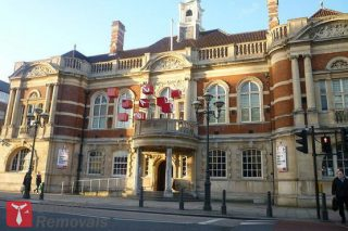 Main entrance to the Battersea Arts Centre