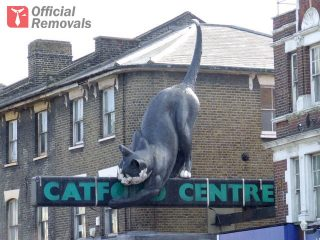 The Catford Cat sculpture