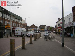 Coldharbour Lane in Hayes