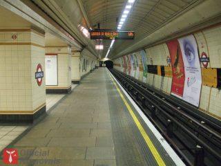 Gant's Hill Tube station